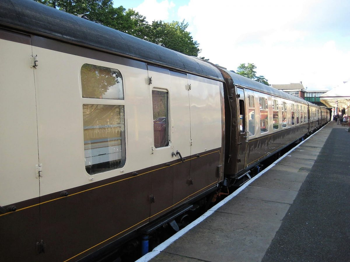Dining with Distinction aboard the East Lancashire Railway