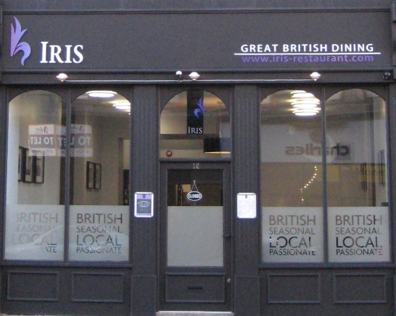 The Iris Restaurant Great British Dining In Wakefield